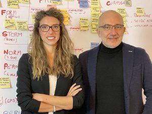 Massimiliano Ghini e Giulia Baroni, Founders TEAMX
